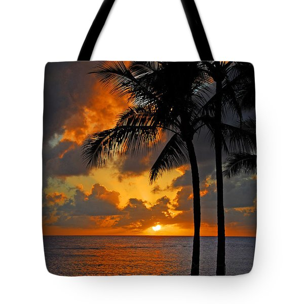Tropical Nights  Tote Bag by Lynn Bauer