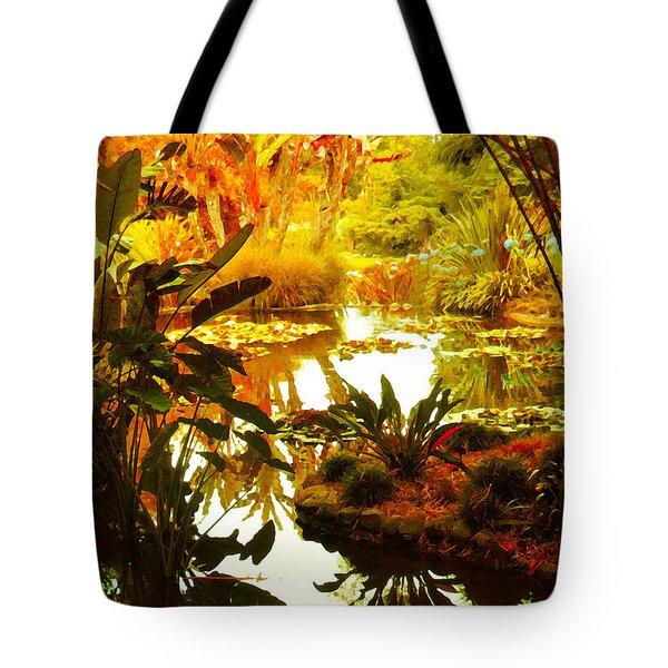 Tropical Paradise Tote Bag by Amy Vangsgard