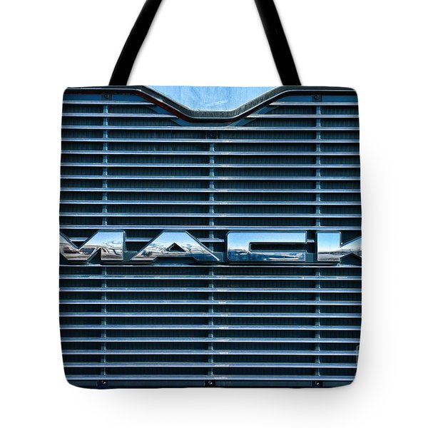 Truck - The Mack Grill Tote Bag by Paul Ward