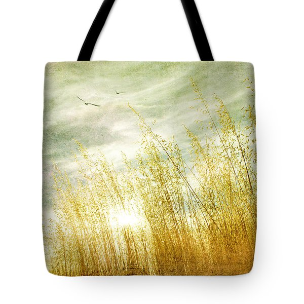 True Love Transcends Time Tote Bag by Linda Lees