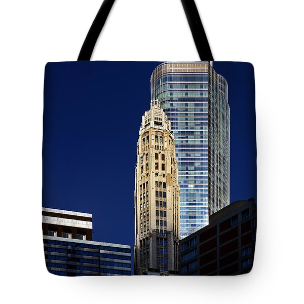 Trump International Hotel And Tower Chicago Tote Bag by Christine Till