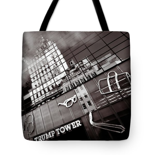 Trump Tower Tote Bag by Dave Bowman