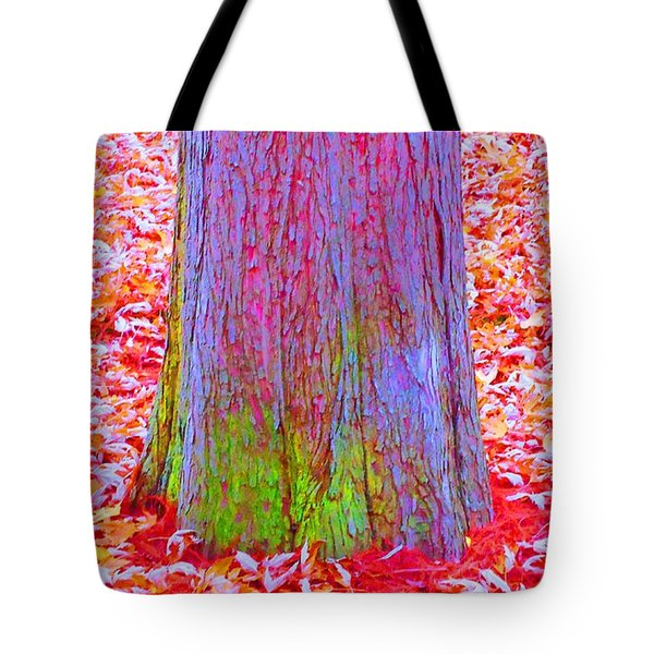 Truncate Tote Bag by Ann Johndro-Collins