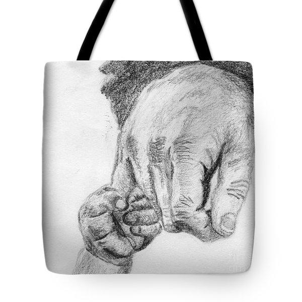 Trust Tote Bag by Annemeet Hasidi- van der Leij