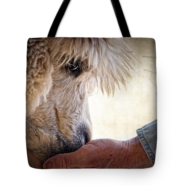 Trust Tote Bag by Tamyra Ayles