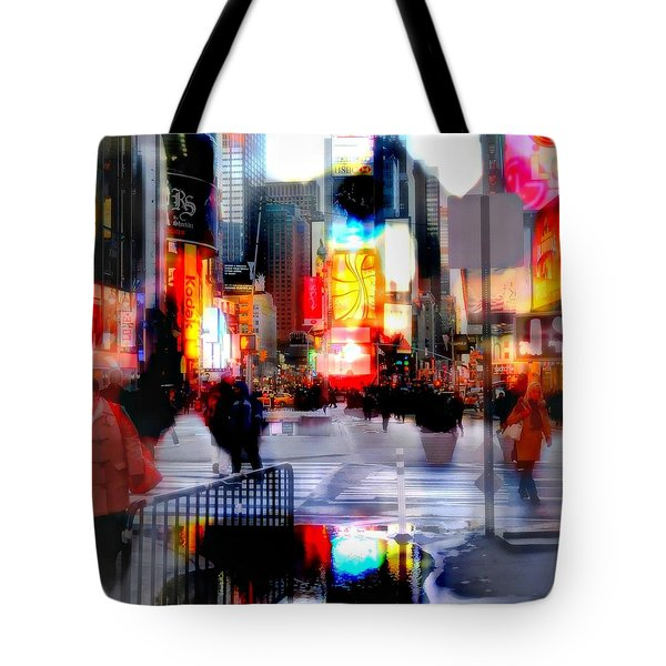 TSquare Water Colors Tote Bag by Diana Angstadt