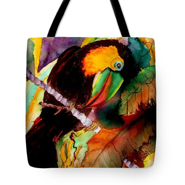 Tu Can Toucan Tote Bag by Lil Taylor