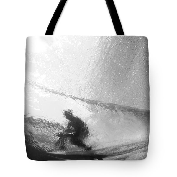 Tube Time Tote Bag by Sean Davey