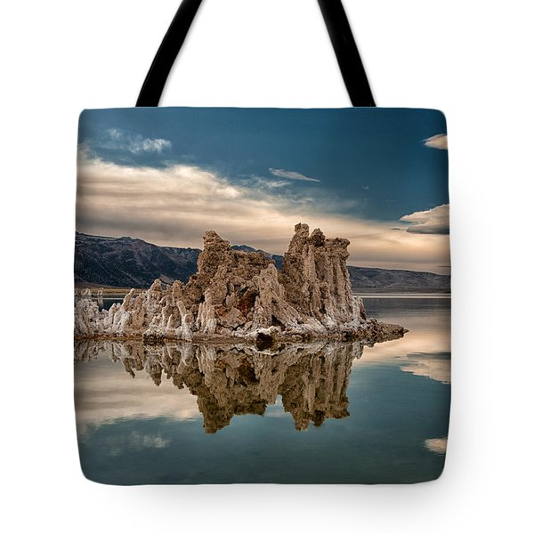 Tufa Reflections Tote Bag by Cat Connor