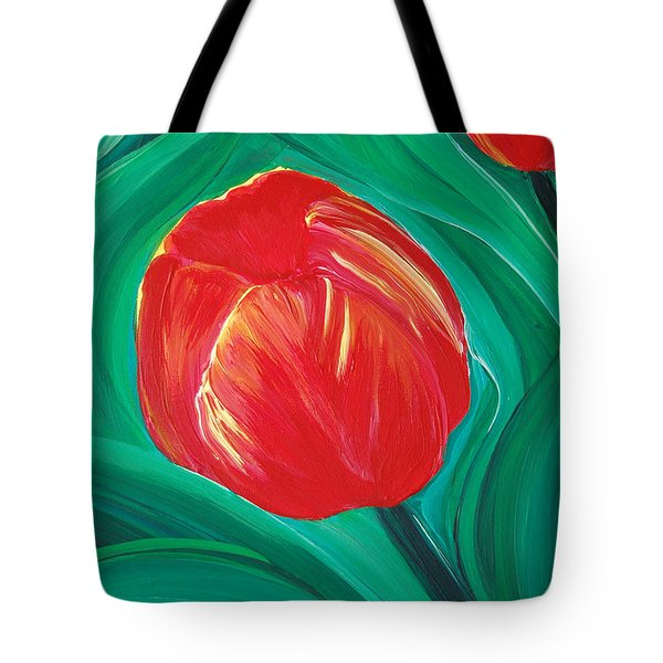 Tulip Diva by jrr Tote Bag by First Star Art