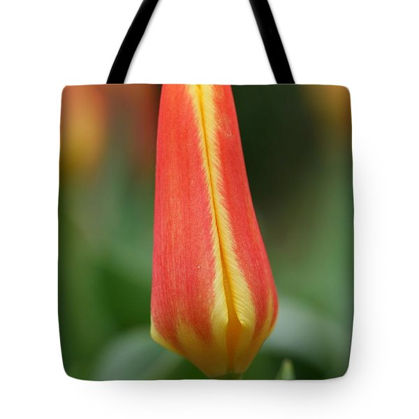Tulip Tote Bag by Mark Severn