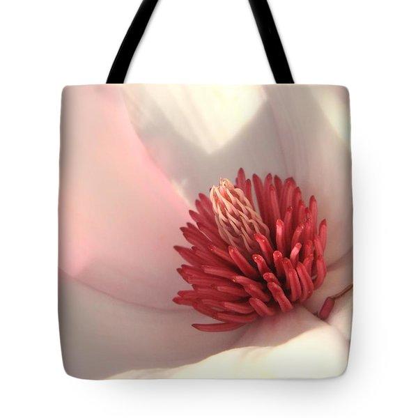 Tulip Tree Blossom Tote Bag by Carol Groenen