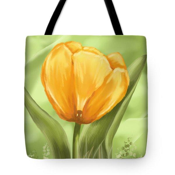 Tulip Tote Bag by Veronica Minozzi