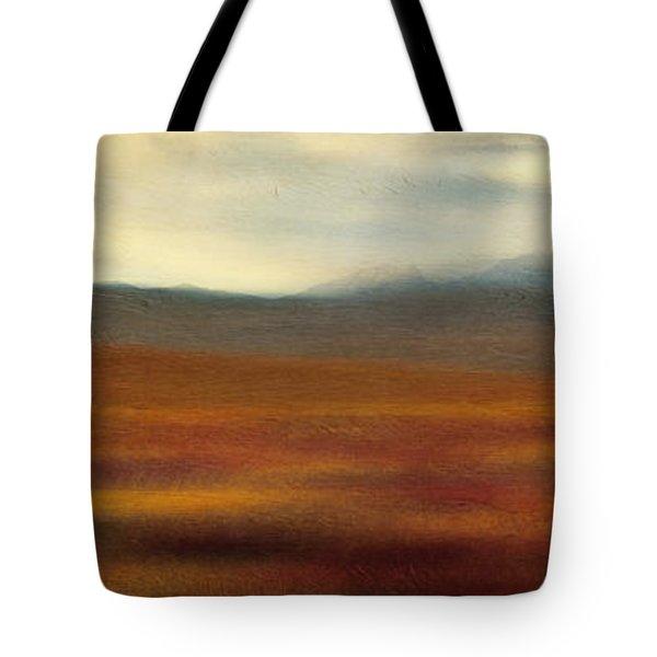Tundra Autumn Melody Tote Bag by Priska Wettstein