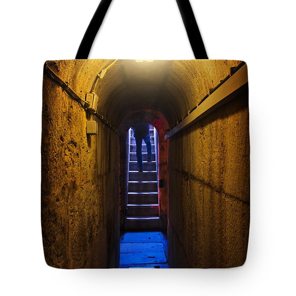 Tunnel Exit Tote Bag by Carlos Caetano