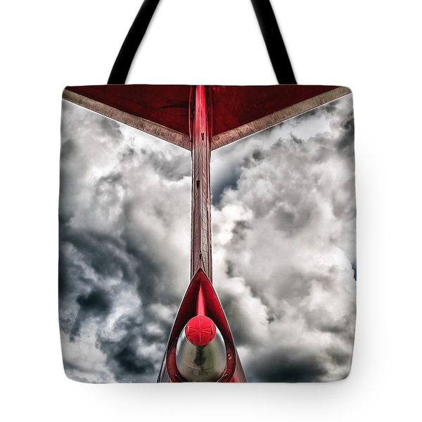 Tupolev Tu-154  Tote Bag by Stylianos Kleanthous