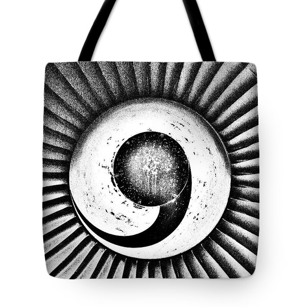 Turbofan Tote Bag by Benjamin Yeager