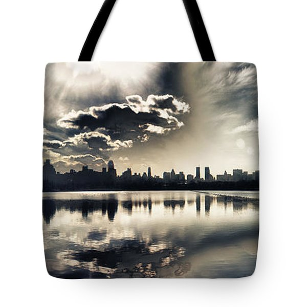 Turbulent Afternoon Tote Bag by Nishanth Gopinathan