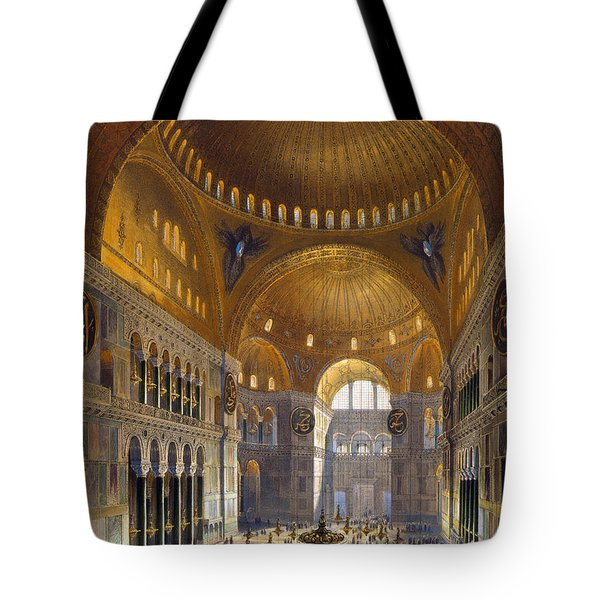 Turkey: Hagia Sopia, 1852 Tote Bag by Granger