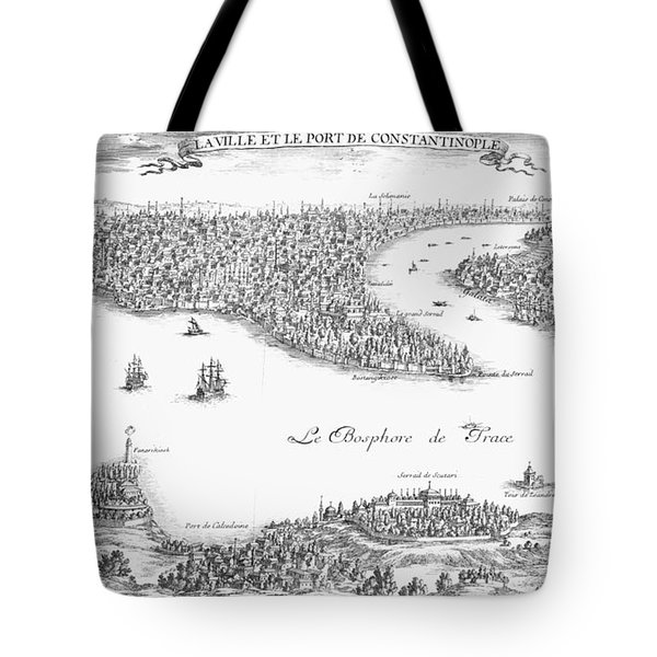 Turkey: Istanbul, 1680 Tote Bag by Granger
