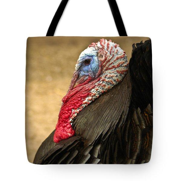 Turkey Time Tote Bag by Carolyn Marshall