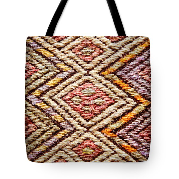 Turkish Rug Tote Bag by Tom Gowanlock