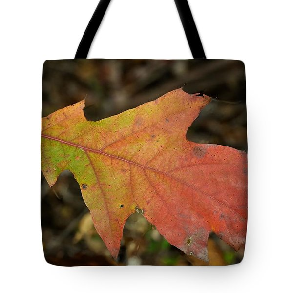 TURN A LEAF Tote Bag by JAMART Photography