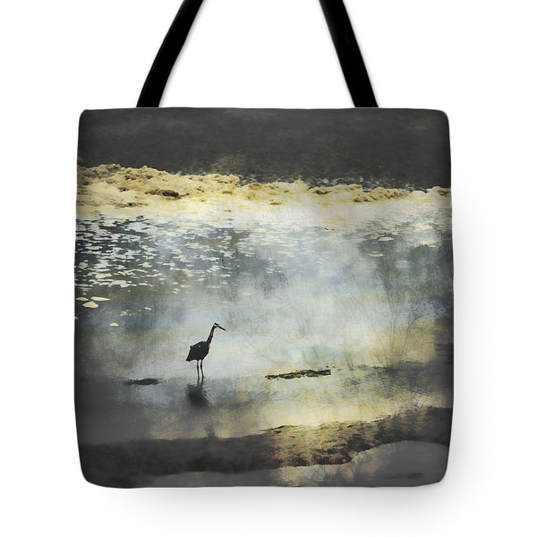 Turning Of The Tide Tote Bag by Carol Leigh