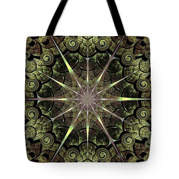 Turtle Gates Tote Bag by Anastasiya Malakhova