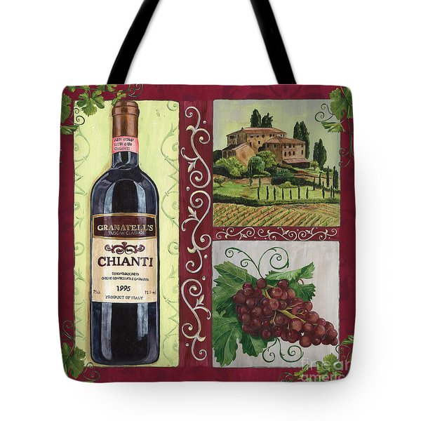 Tuscan Collage 1 Tote Bag by Debbie DeWitt