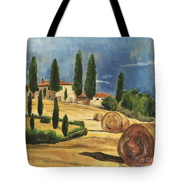 Tuscan Dream 2 Tote Bag by Debbie DeWitt
