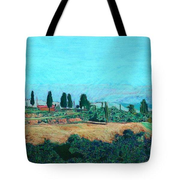 Tuscan Farm Tote Bag by Allan P Friedlander