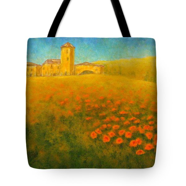 Tuscan Gold 1 Tote Bag by Pamela Allegretto