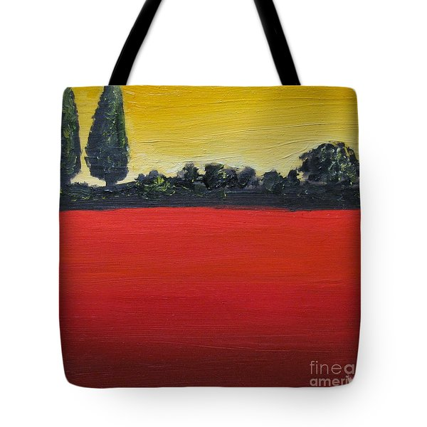 Tuscan Sunrise Tote Bag by Venus