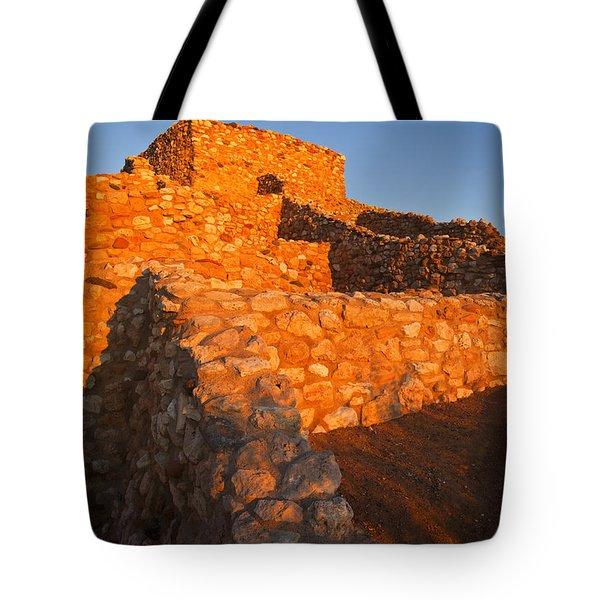 Tuzigoot Dawn Tote Bag by Mike  Dawson