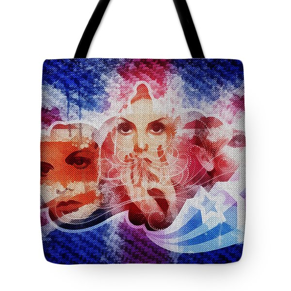 Twiggy Tote Bag by Mo T