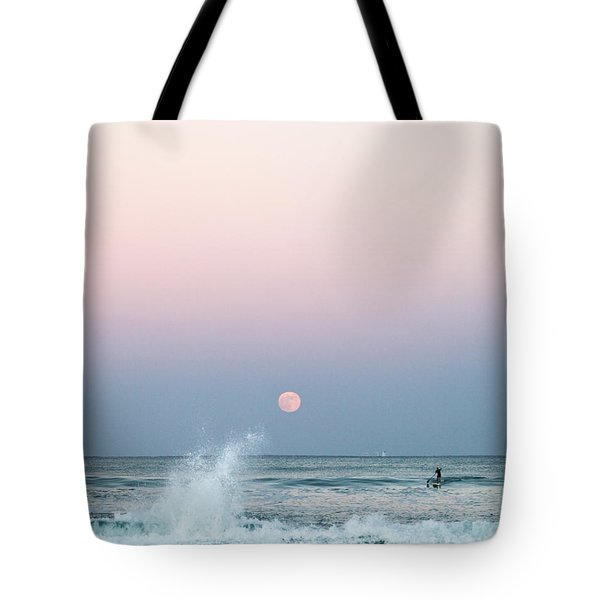 Twilight In Rose Tote Bag by Michelle Wiarda