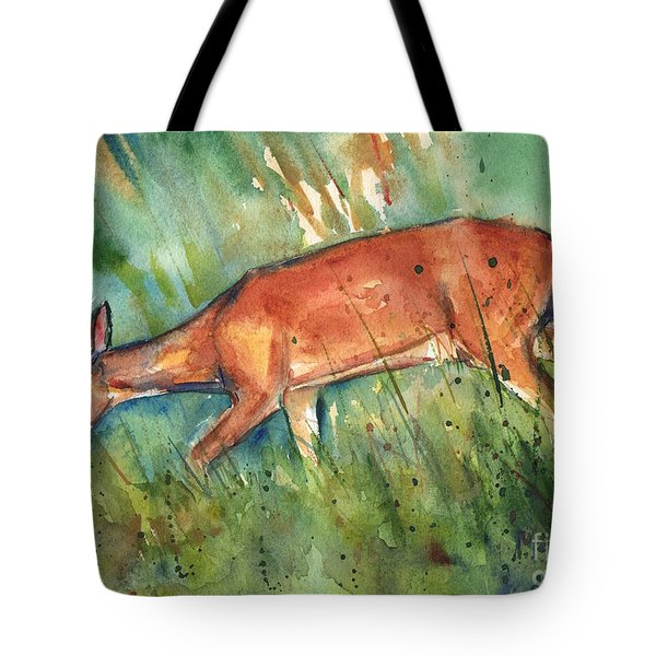 Twilight Tote Bag by Maria's Watercolor