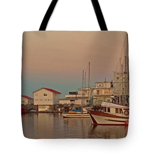 Twilight Tote Bag by Randy Hall