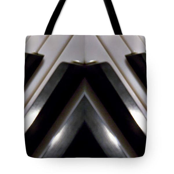 Twin Keyboards Tote Bag by M and L Creations
