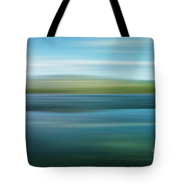 twin lakes Tote Bag by Priska Wettstein