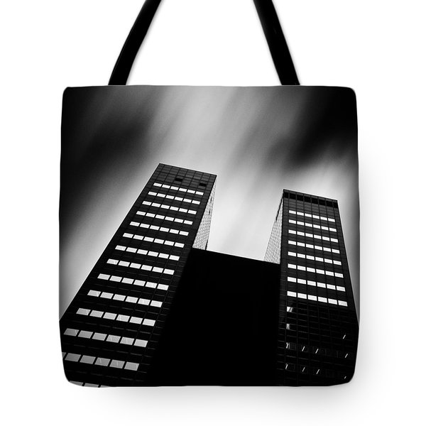 Twin Towers Tote Bag by Dave Bowman