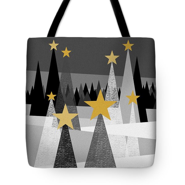 Twinkle Lights Tote Bag by Val Arie