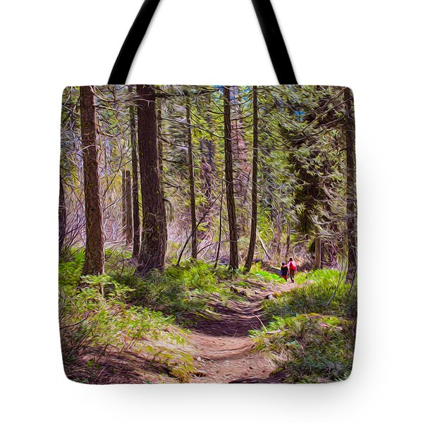 Twisp River Trail Tote Bag by Omaste Witkowski