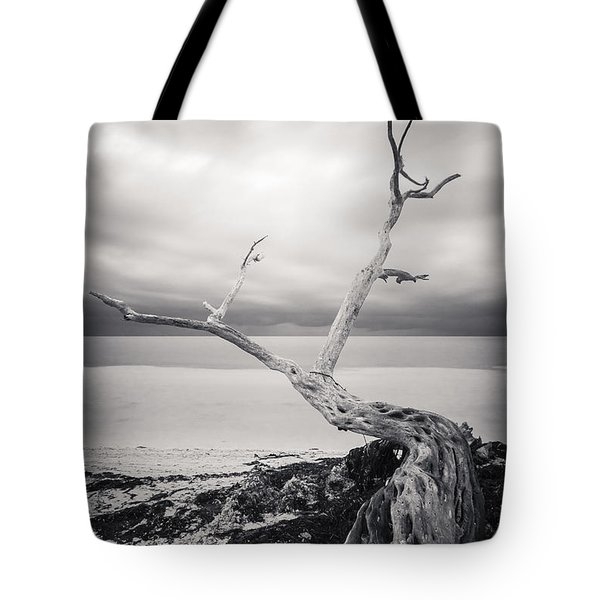 Twisted Tote Bag by Adam Romanowicz