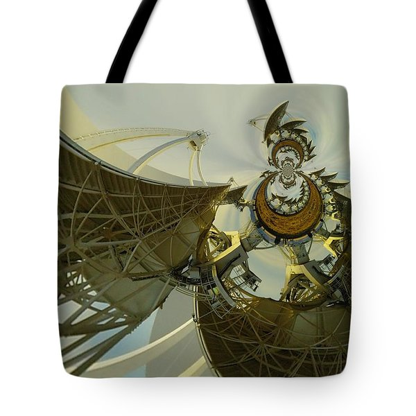 Twisted Beauty Of Chaso Tote Bag by Jeff Swan