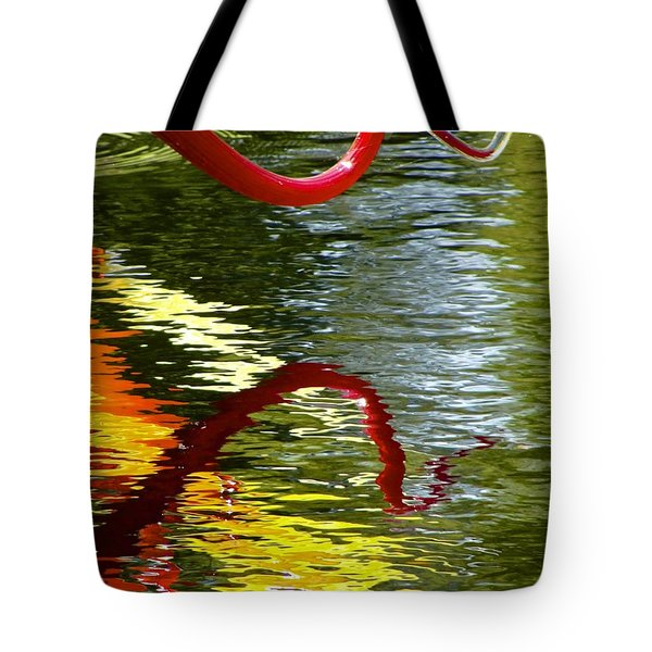 Twisted Ripples Tote Bag by Charlie Brock