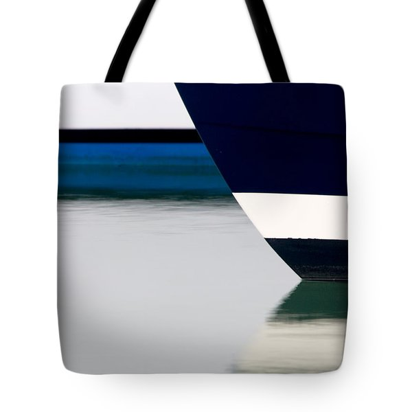 Two Boats Edgartown Tote Bag by CJ Middendorf