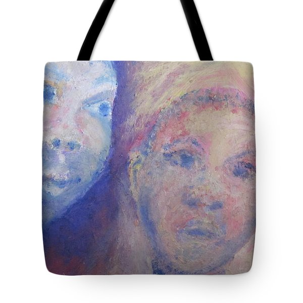 Two Faces Tote Bag by Cherie Sexsmith