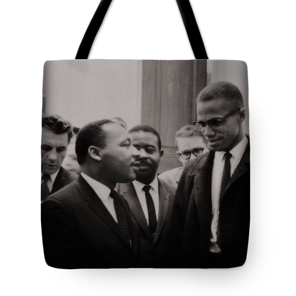 Two Means to an End Tote Bag by Benjamin Yeager